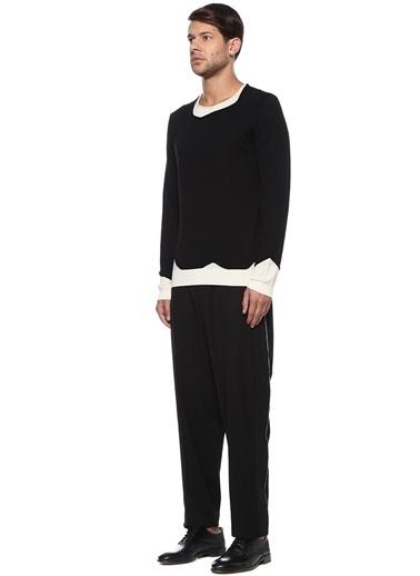 Isabel Benenato Pantolon Siyah